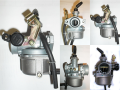 PZ19 carburetor with cable choke function