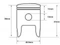 Demon 90 piston dimensions