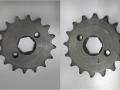 XB80 (125cc Lifan) front sprocket 420-16 (20mm spline)